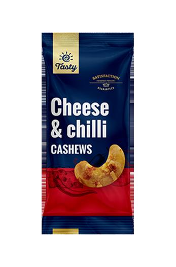 Indijski oreščki s sirom & čilijem Tasty