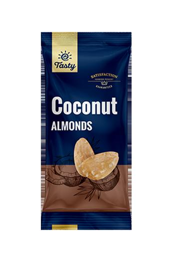 Mandlji s kokosom Tasty, 60 g