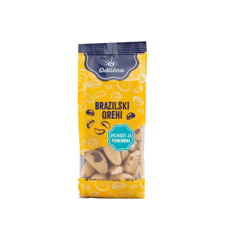 Brazilski orehi Odlično, 150 g