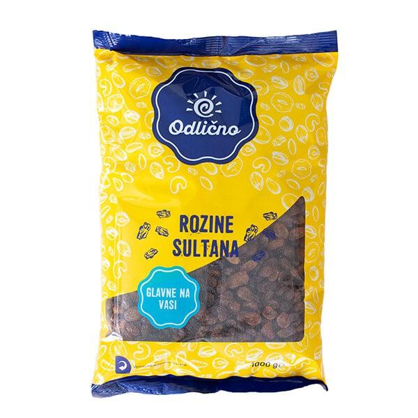 Rozine sultana Odlično, 1000 g
