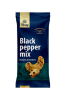 Mešanica arašidov in indijskih oreščkov s črnim poprom Tasty, 60 g 14 + 2 GRATIS